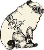 Logo for The Pug Automatic blog