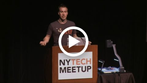 Swift speaks at NY Tech Meetup