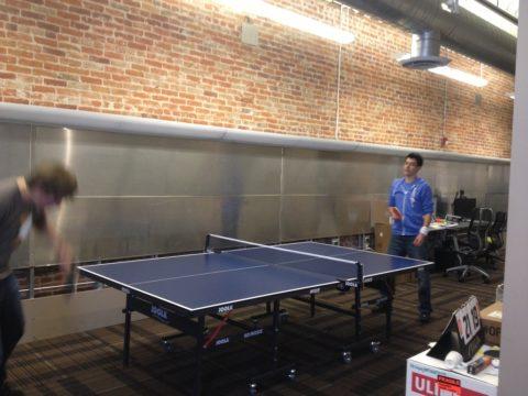 Ping pong at API Hackday Denver