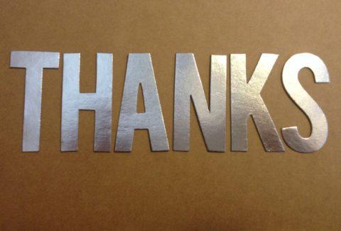 THANKS_Self