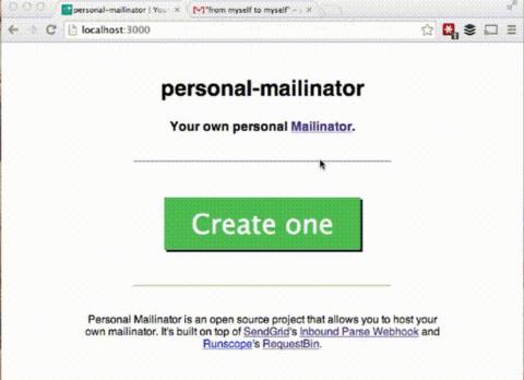 Personal-mailinator