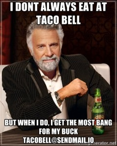 I Don't Always Eat at Taco Bell...