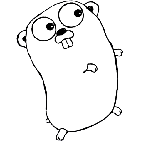 golang gopherThe Go gopher was designed by Renee French. (http://reneefrench.blogspot.com/)