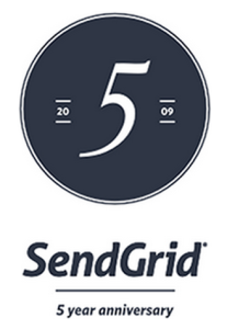 SendGrid 5 year anniversary