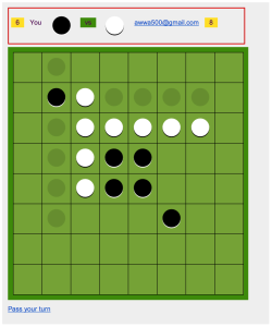 Reversi with email