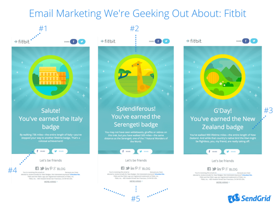 Email Marketing We're Geeking Out About- FitBit