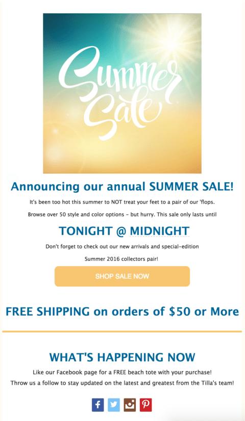 Tillas Email