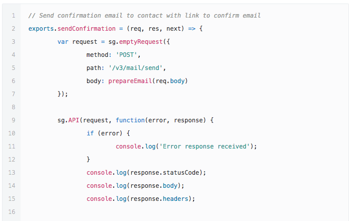 Creating a Subscription Widget with Node js   SendGrid