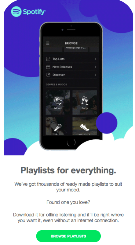 spotify-email-marketing-campaign-example