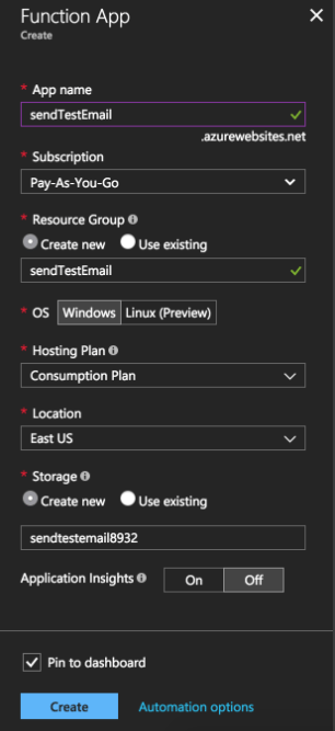 Using SendGrid With Azure Functions to Send Mobile App