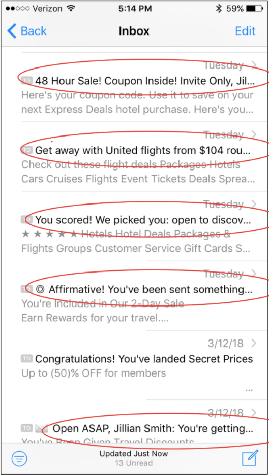 Email Subject Line Insights for the Travel Industry