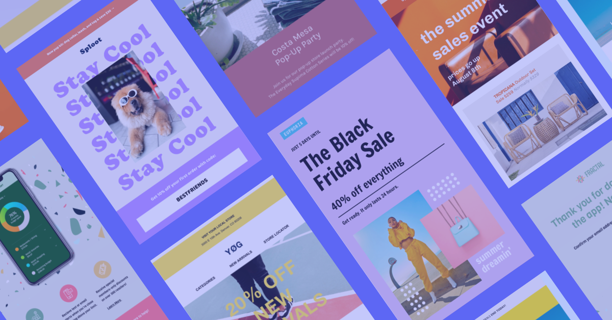 Our Email Template Gallery 2
