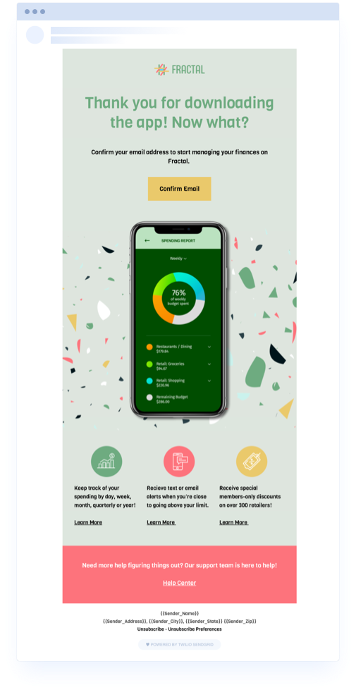 Confirmation App DESKTOP