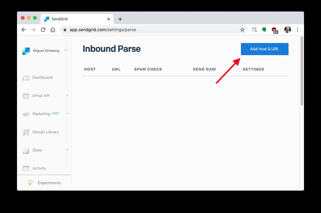 inbound parse page